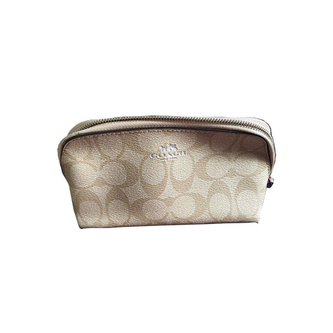 Signature Canvas Cosmetic Case