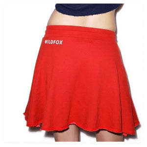 Athletic Skirt Hot Lipstick