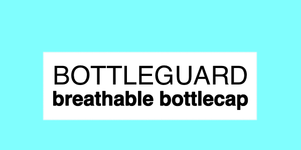 Bottleguard Breathable Bottlecap