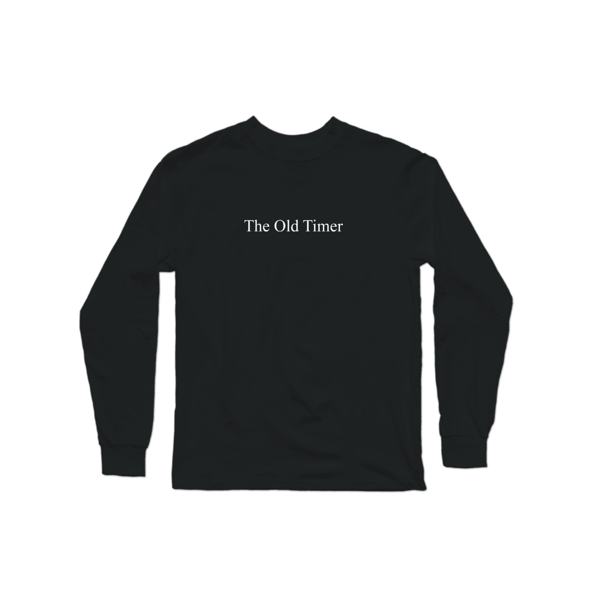 The Old Timer Character Long Sleeve Black