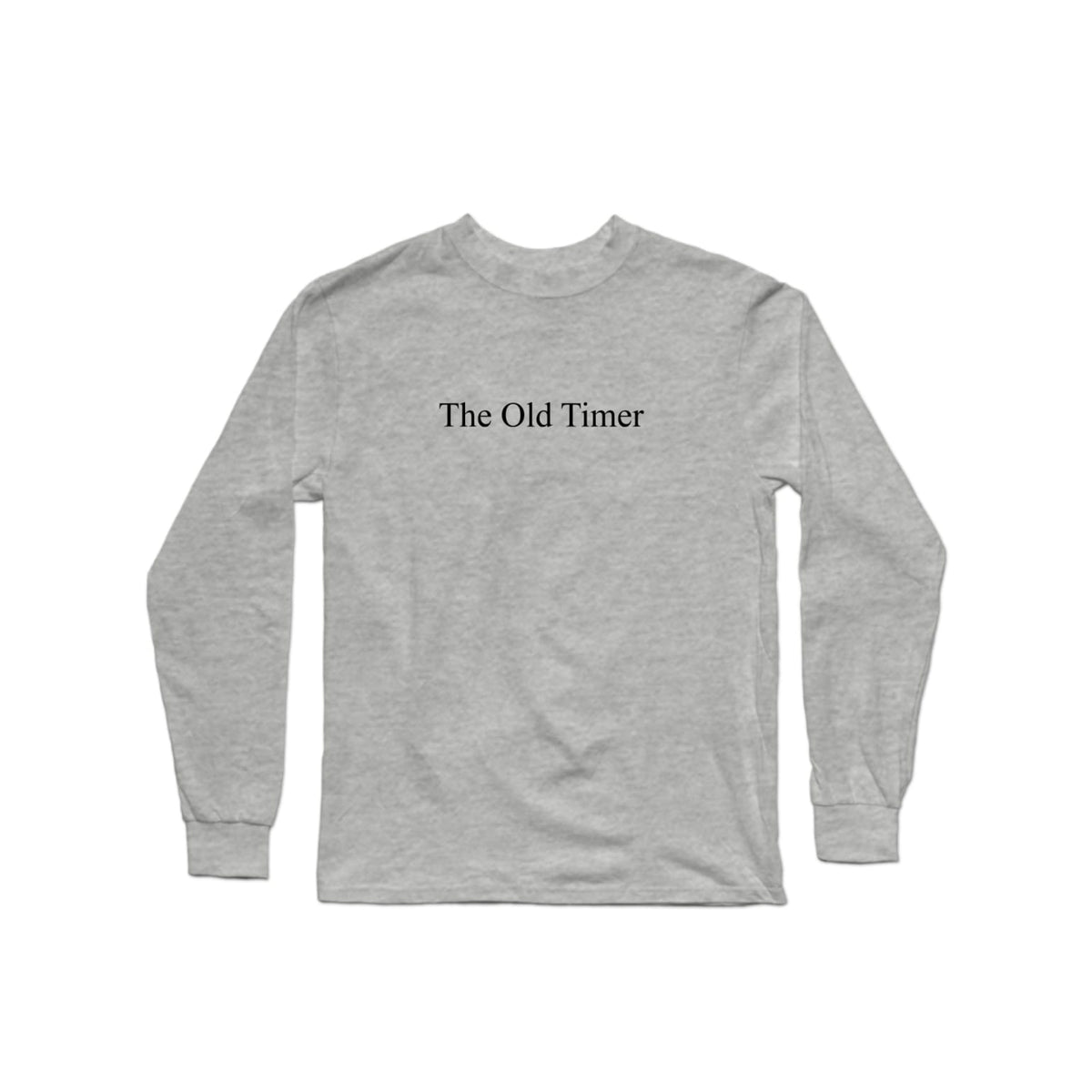 The Old Timer Character Long Sleeve