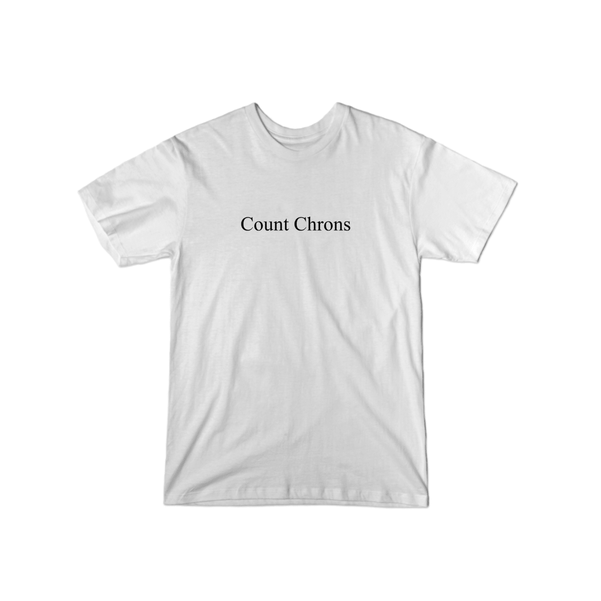 Count Chrons Character T-Shirt