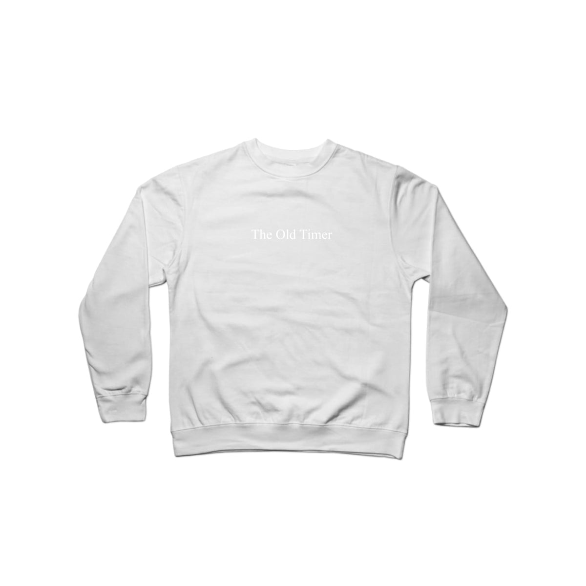 The Old Timer Character Crewneck Black