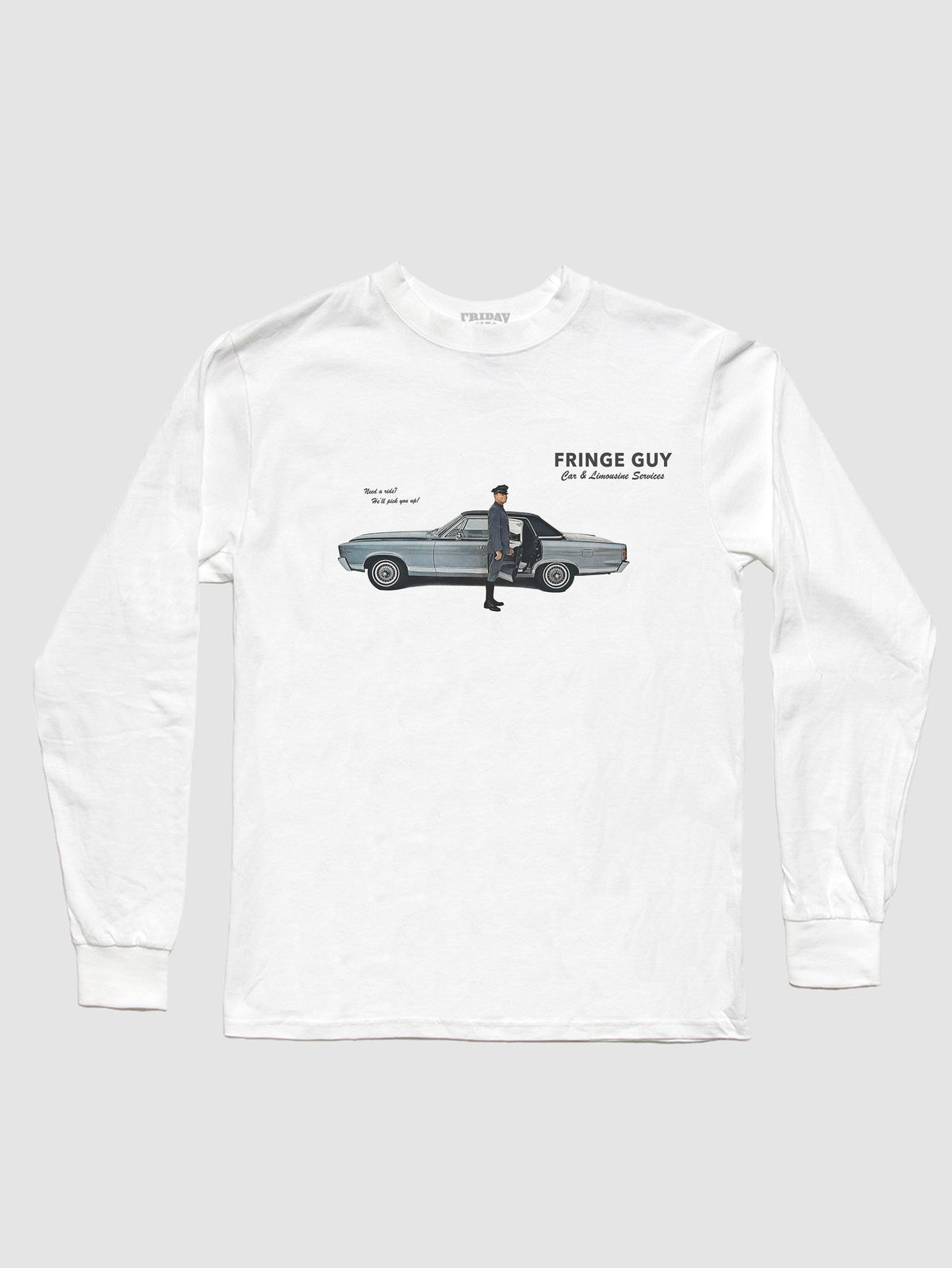 Fringe Guy Car Service Long Sleeve