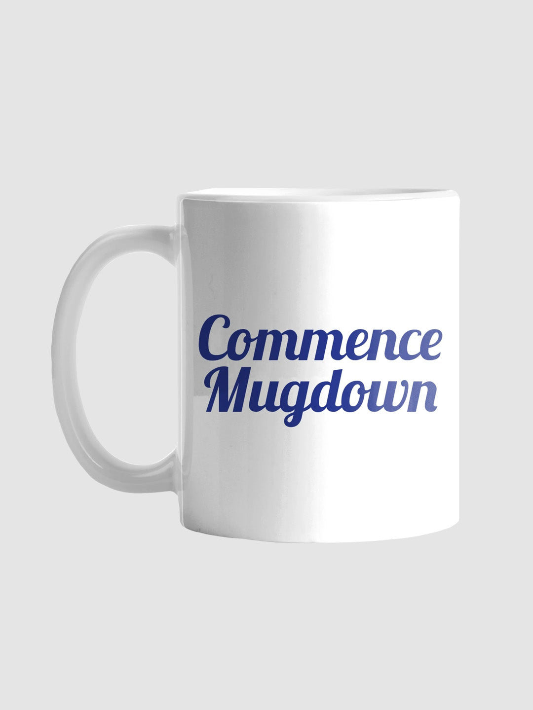 Commence Mugdown Mug White