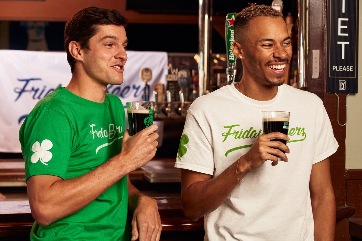 Friday Beers St. Paddy's T-Shirt Green