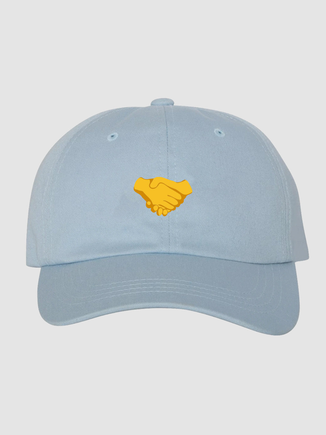Handshake Dad Hat Blue