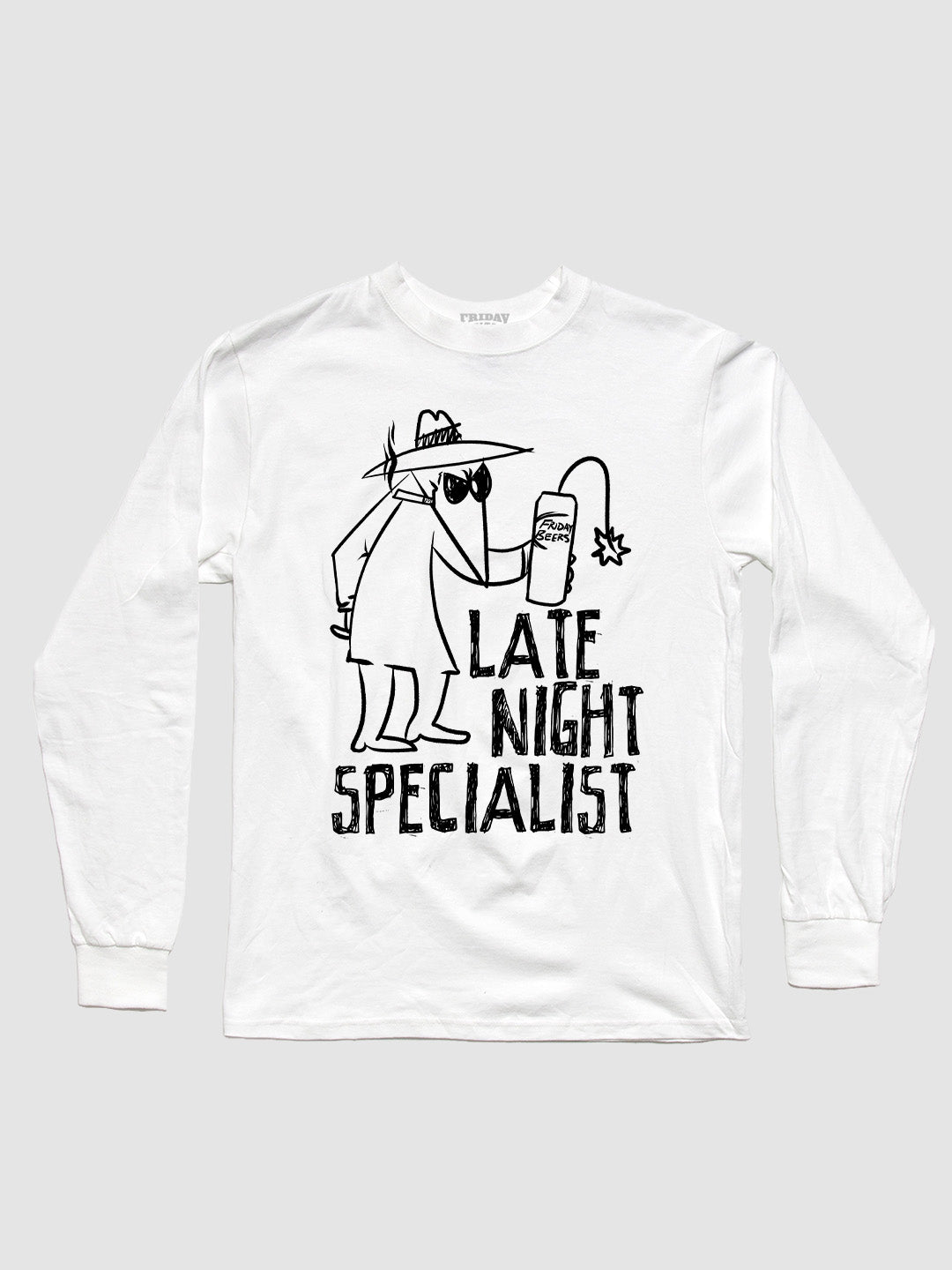 The Late Night Specialist Spy Long Sleeve