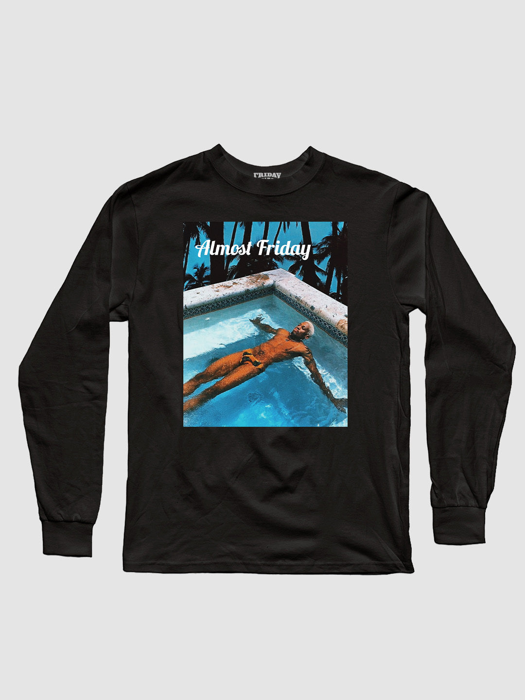 Almost Friday Floating Long Sleeve