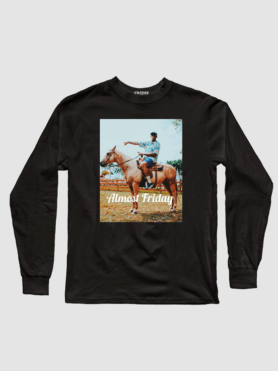 Almost Friday Horse Point Longsleeve Shirt