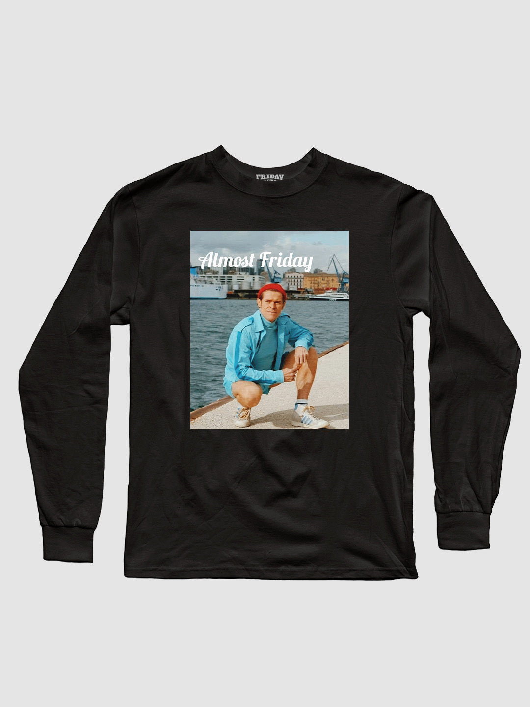 Almost Friday Squat Long Sleeve