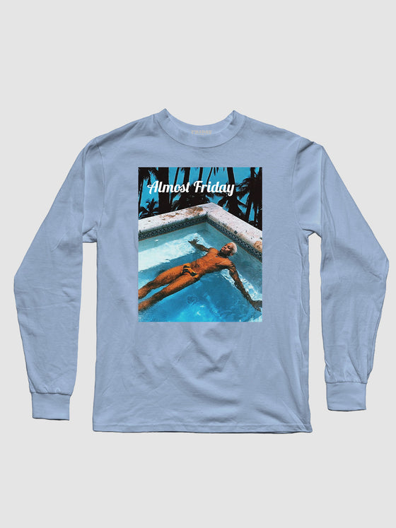 Almost Friday Floating Longsleeve Shirt
