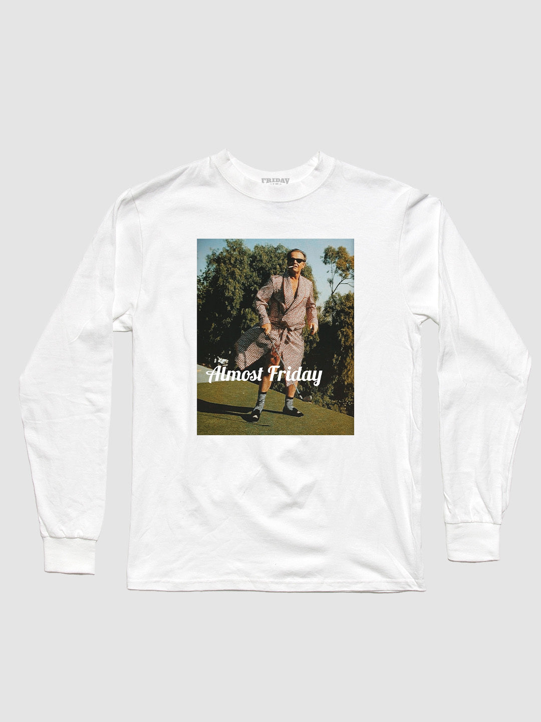 Almost Friday Robe Golf Long Sleeve