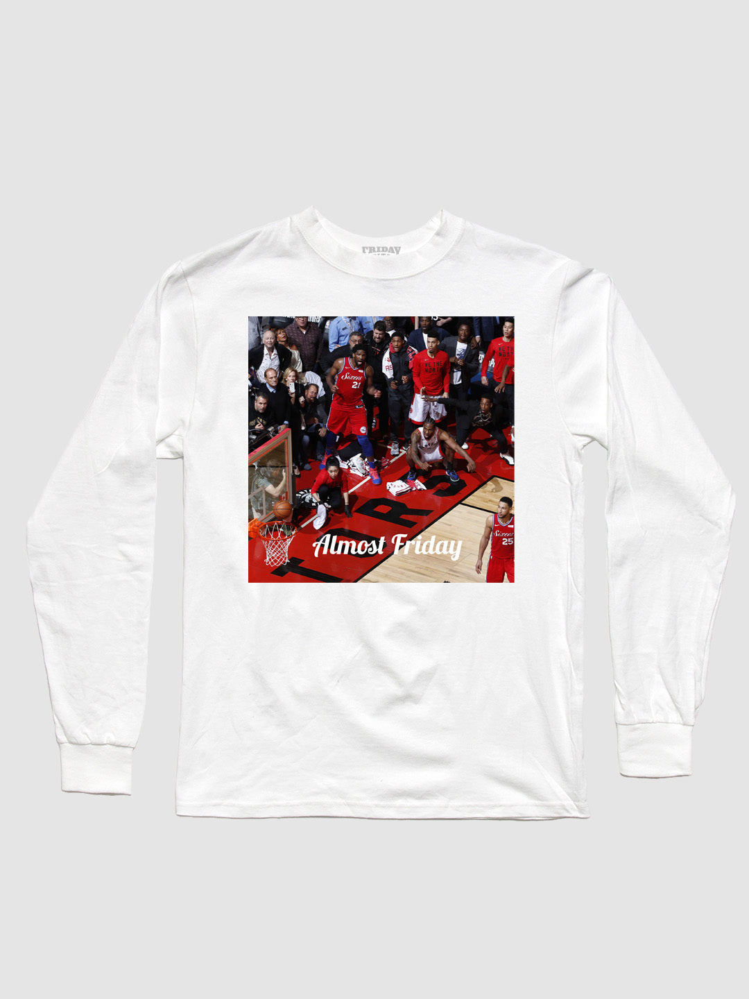 Almost Friday Buzzer Beater Long Sleeve