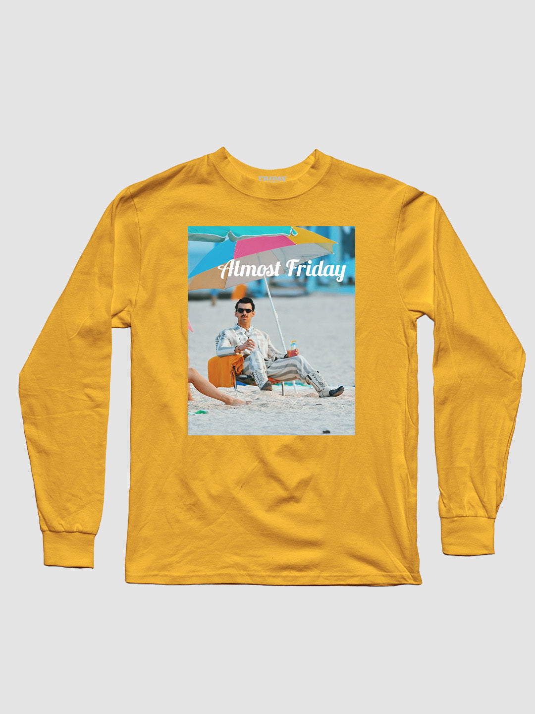 Almost Friday Beach Chair Long Sleeve