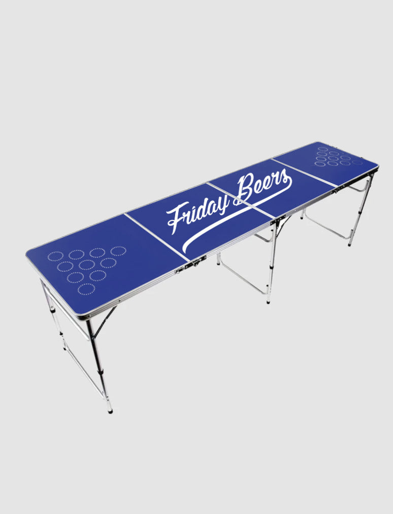 Friday Beers Beer Pong Table