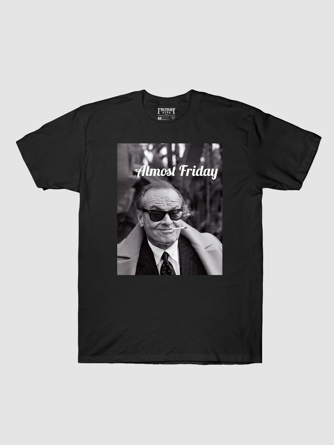Almost Friday Smirk T-Shirt