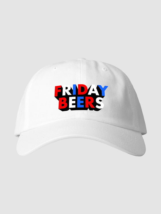 Red White & Blue Dad Hat