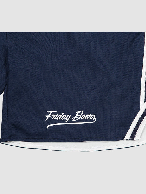 Friday Beers Lax Shorts Navy