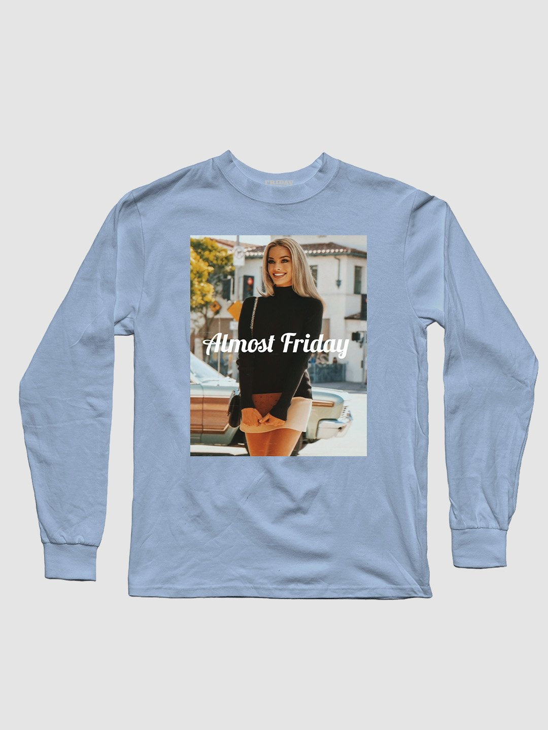 Almost Friday Book Long Sleeve