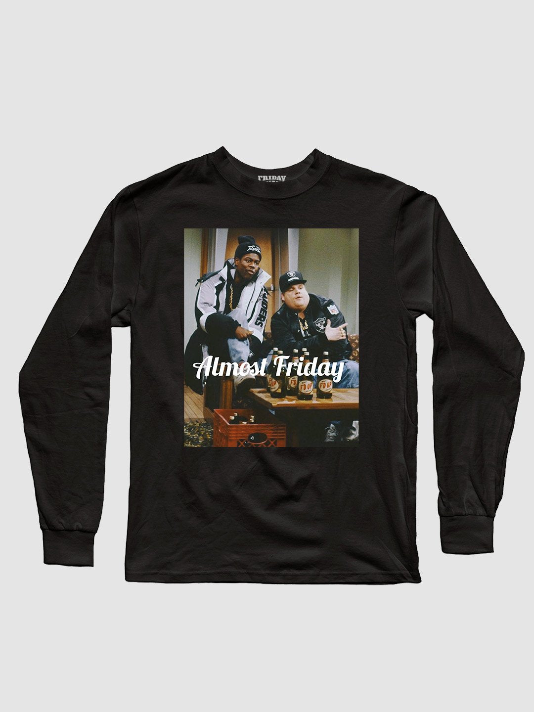Almost Friday Crate Long Sleeve