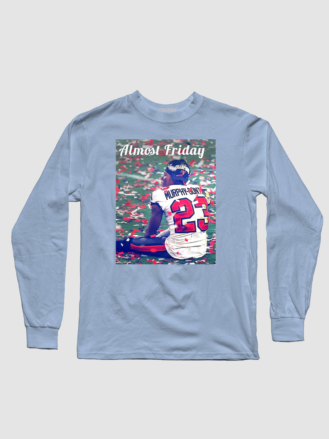 Almost Friday Murphy Bunting  Longsleeve Shirt