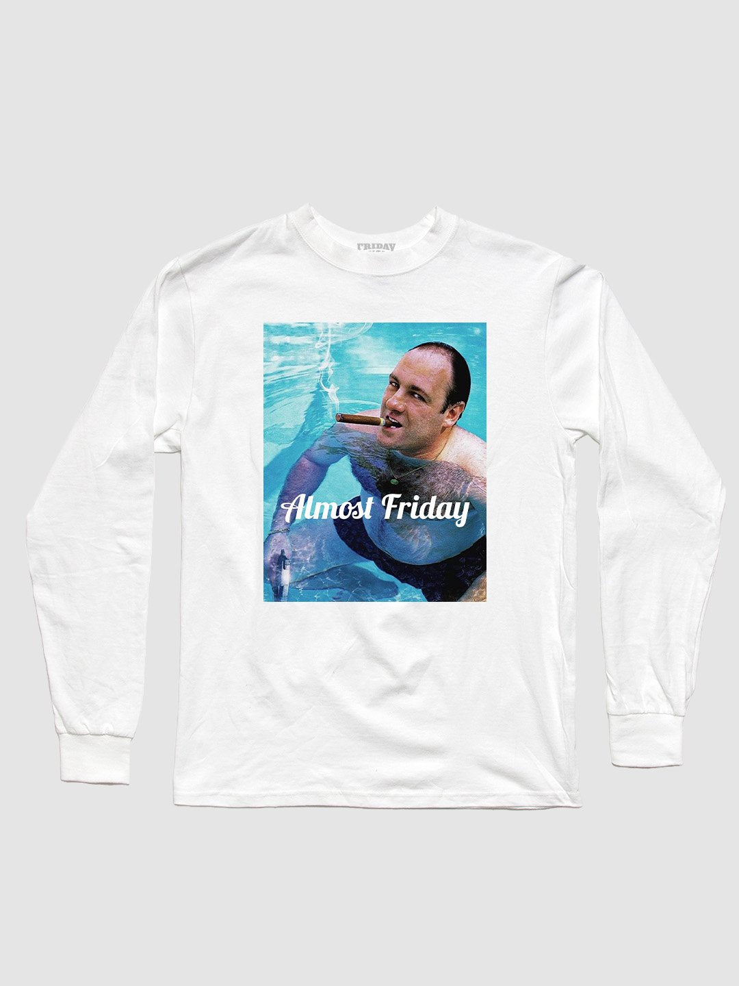 Almost Friday Pool Cigar Long Sleeve