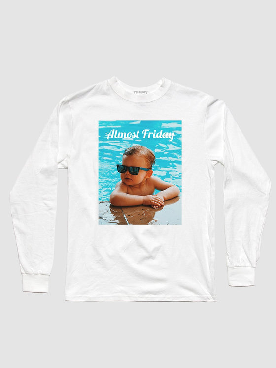 Almost Friday Poolside Longsleeve Shirt