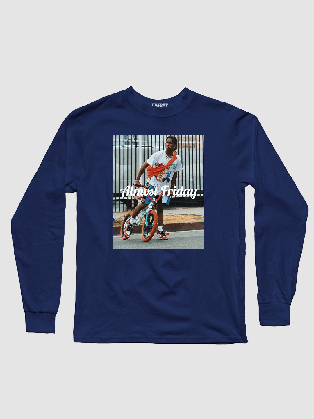 Almost Friday Pop Long Sleeve
