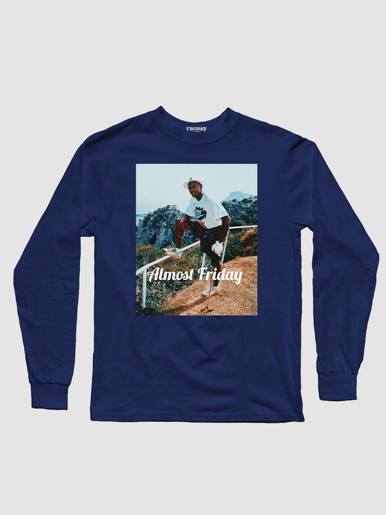 Almost Friday Pose Longsleeve Shirt
