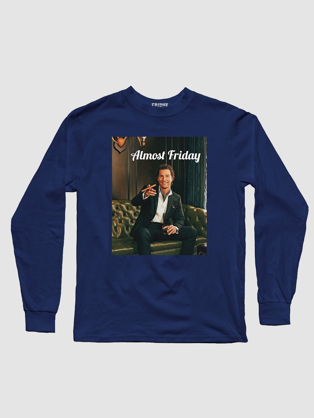 Almost Friday Smile Long Sleeve