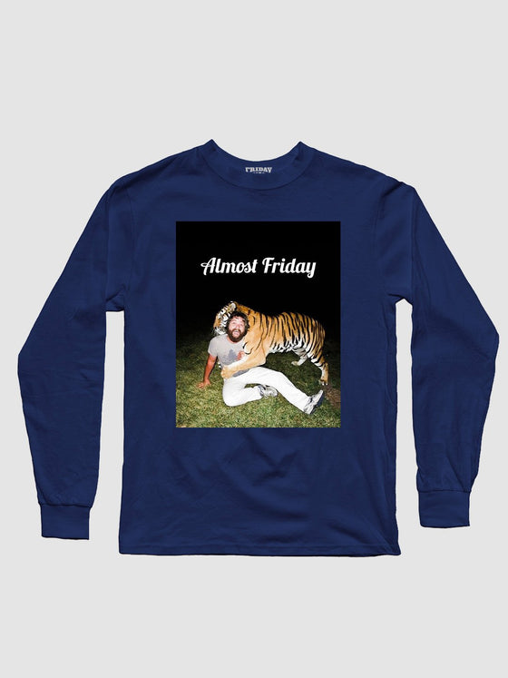 Almost Friday Stripes Long Sleeve
