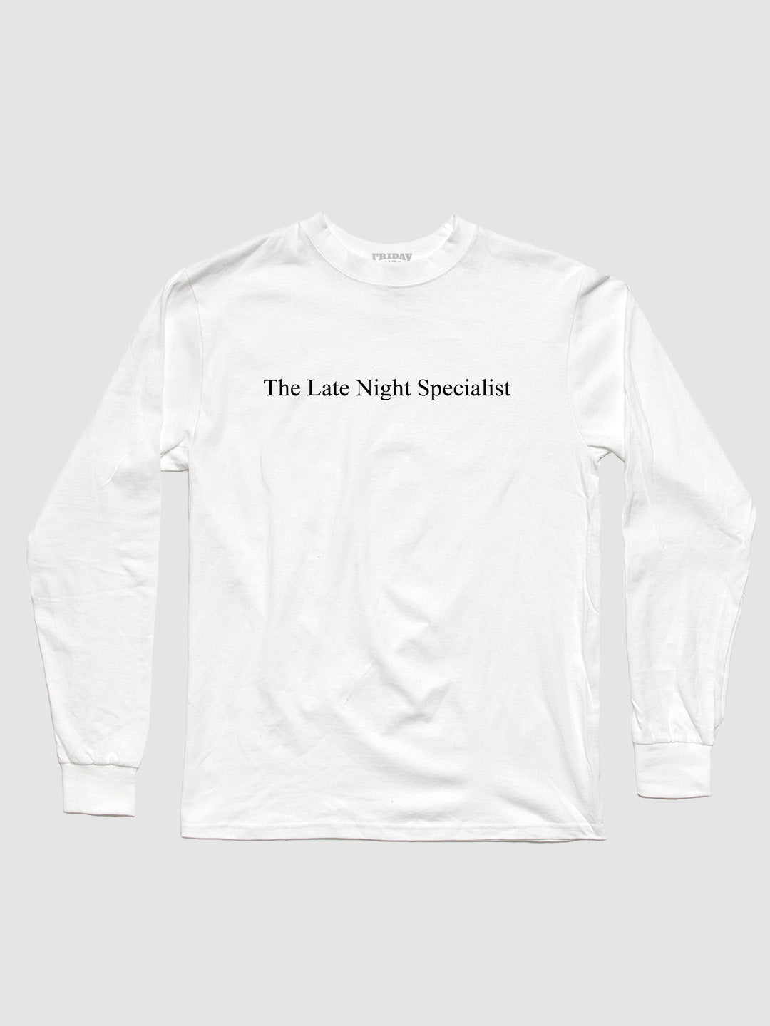 The Late Night Specialist Character Long Sleeve
