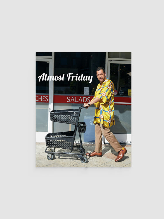 Almost Friday Cart Poster