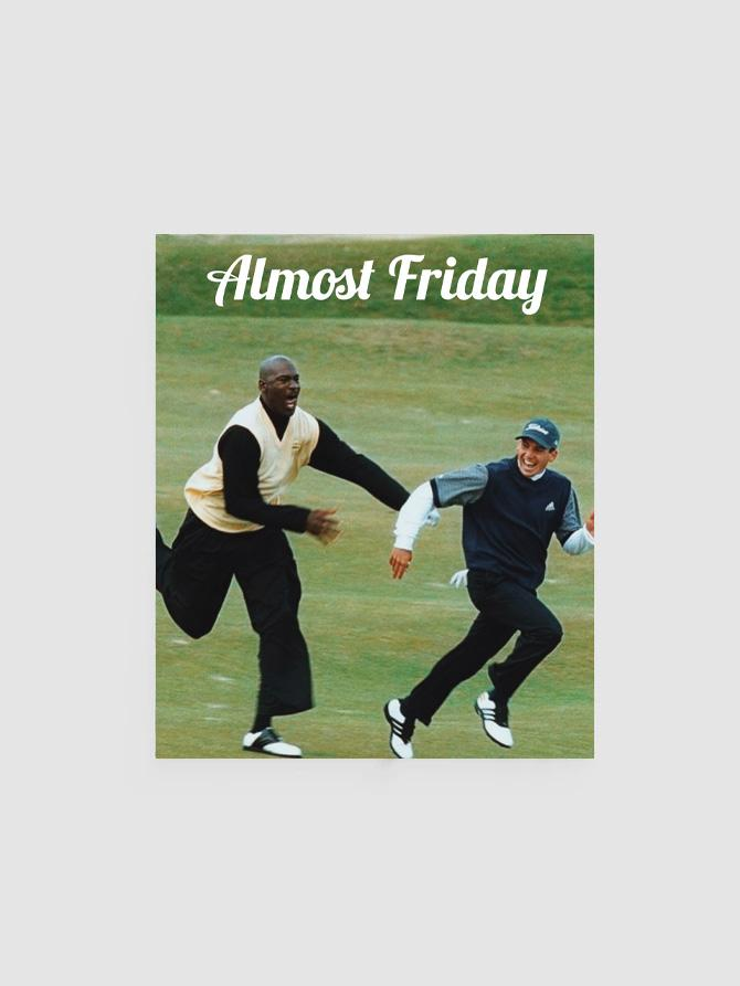 Almost Friday Chase Poster
