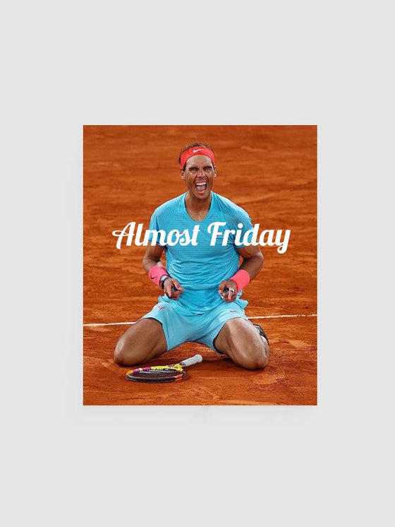 Almost Friday Victory Poster