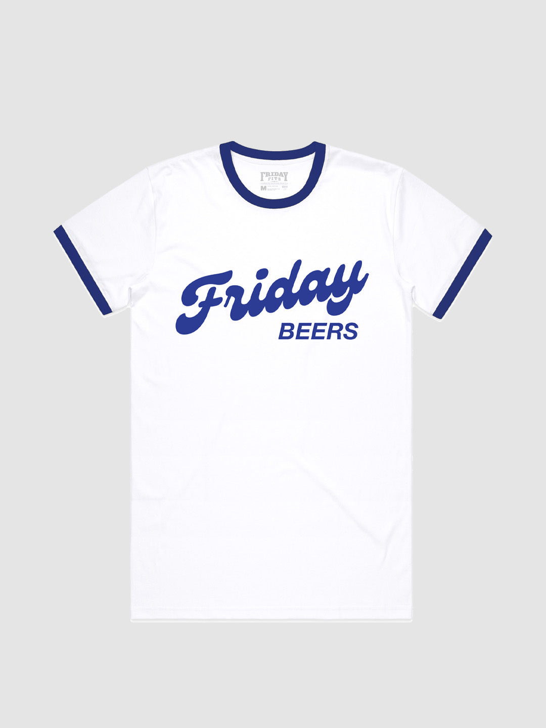 Friday Beers Vintage Ringer T-Shirt