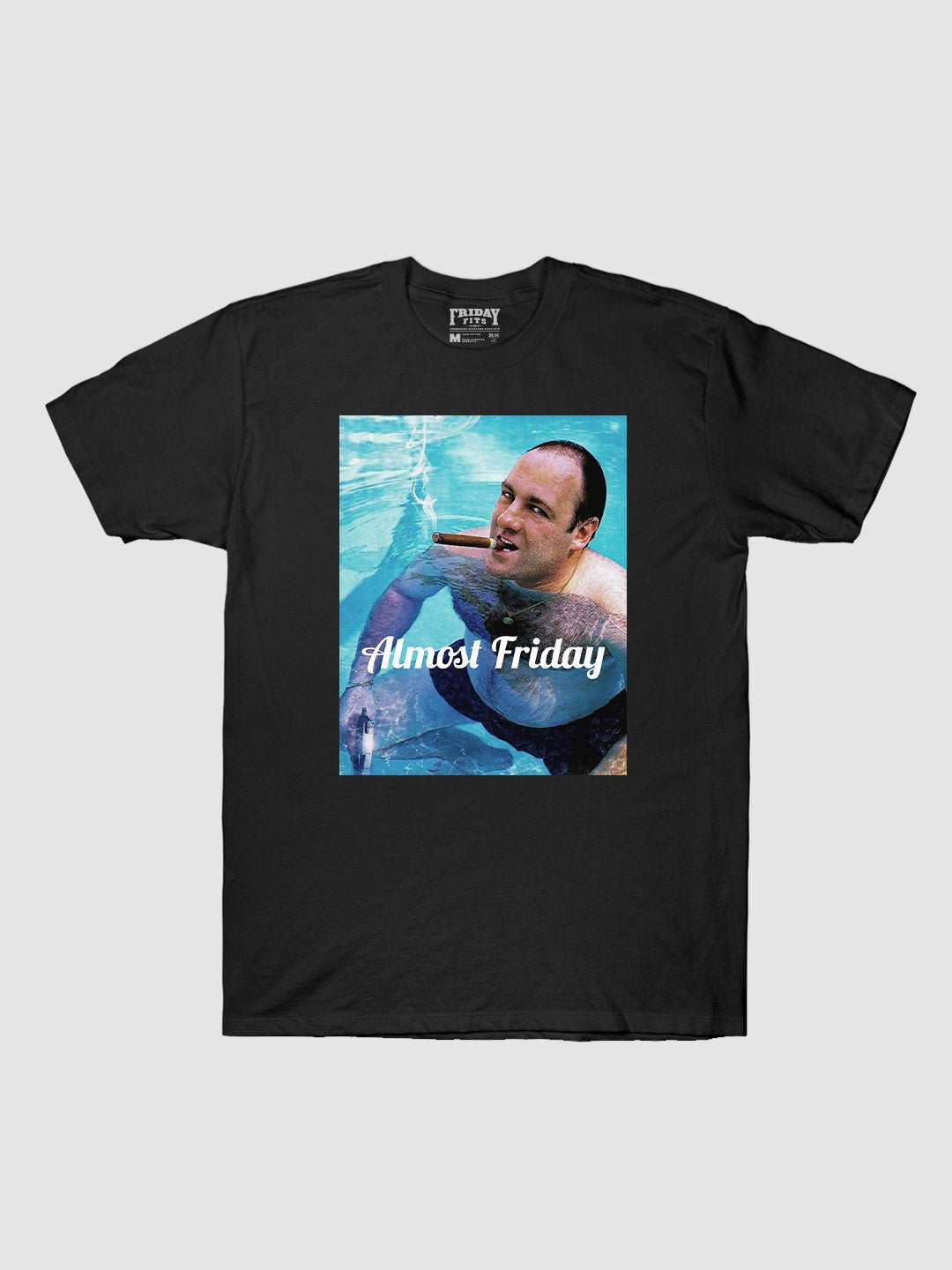 Almost Friday Pool Cigar T-Shirt