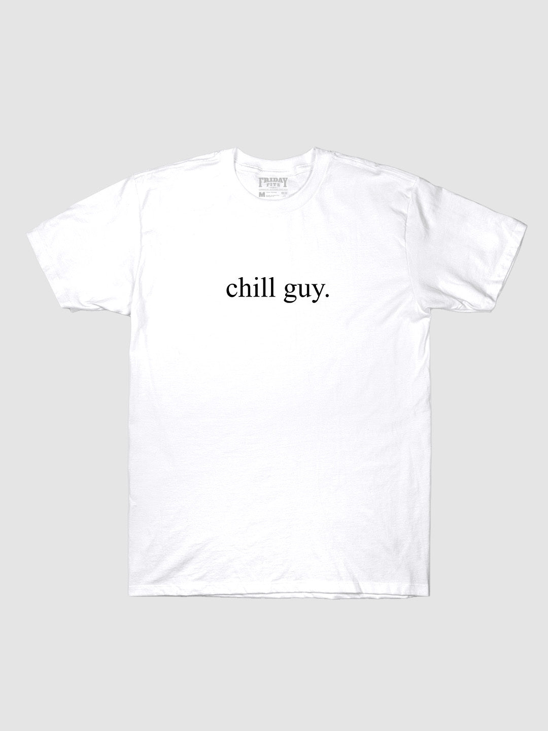 Chill Guy Logo T-Shirt