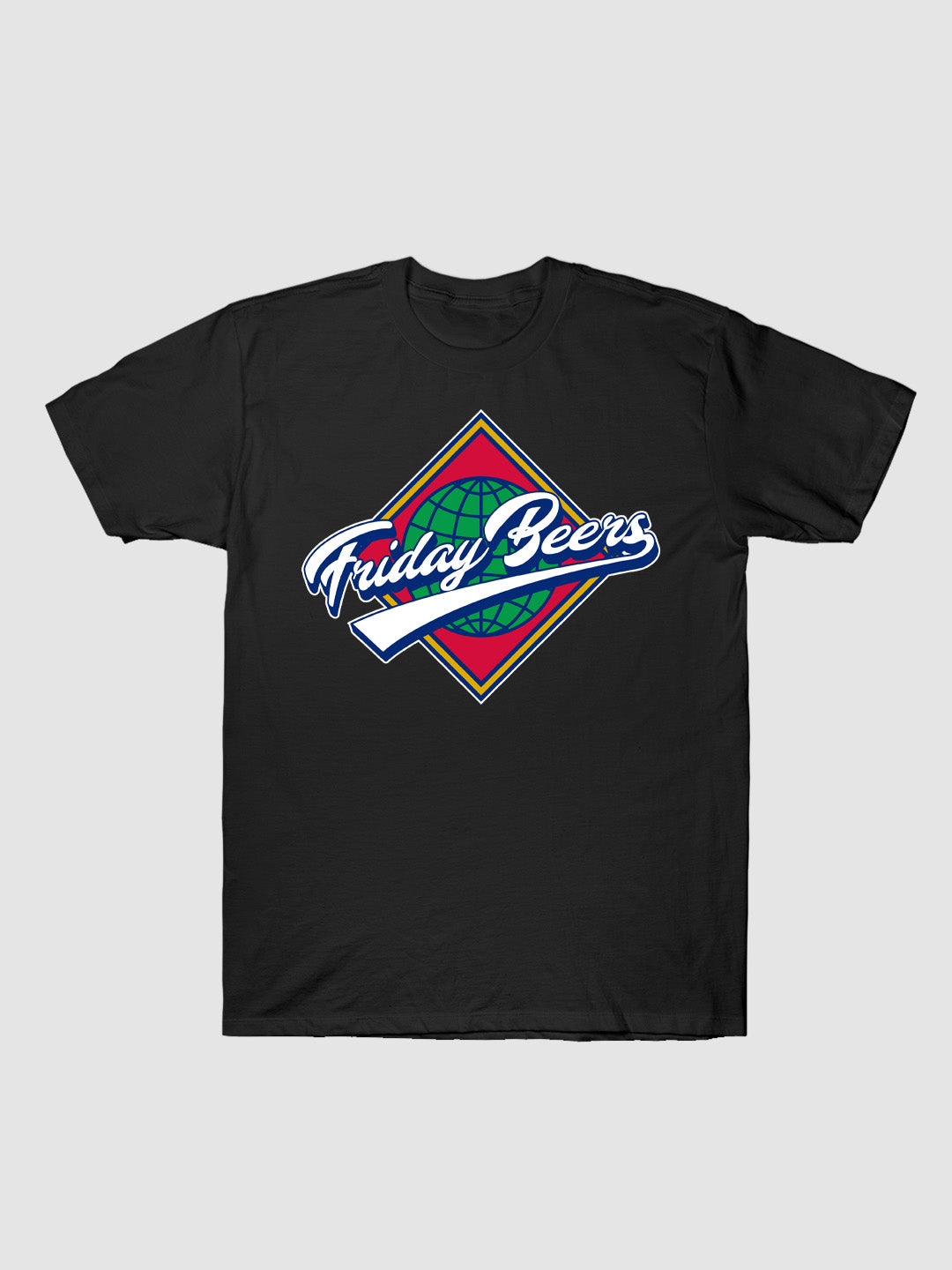 Friday Beers World Series T-Shirt