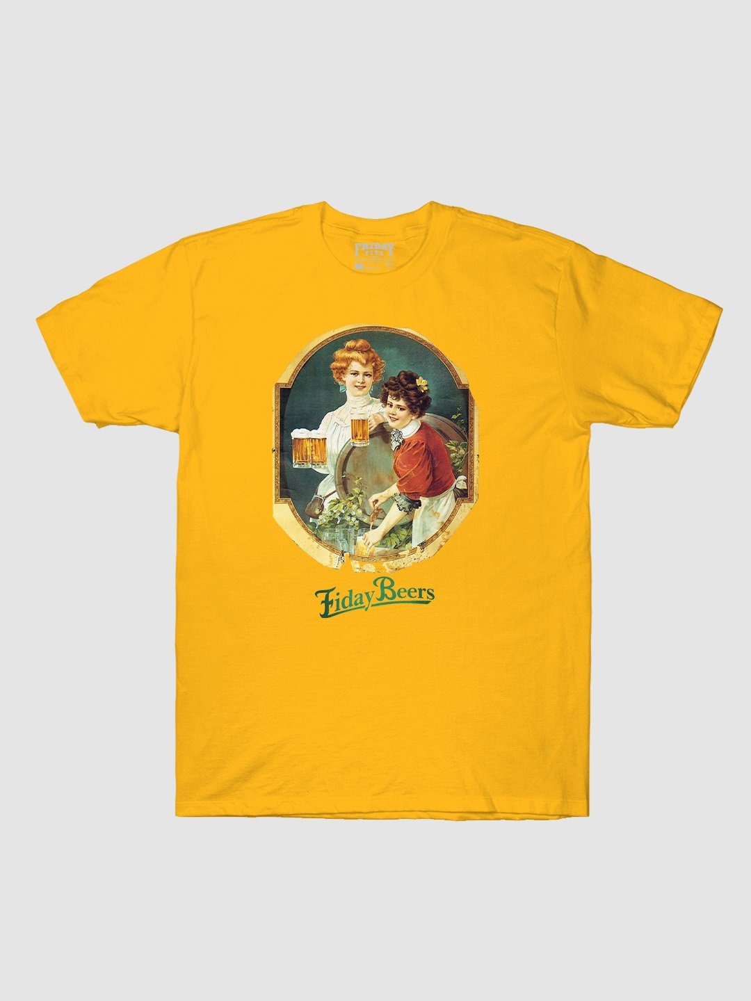 Friday Beers Classical Portrait T-Shirt