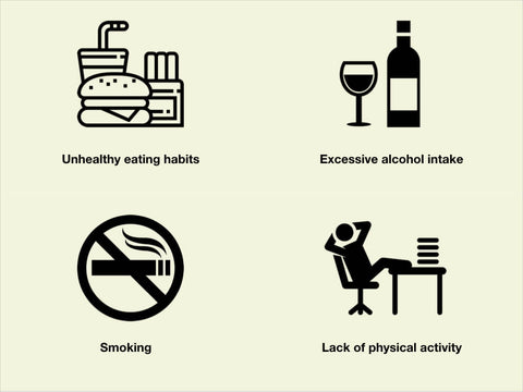 4 habits to avoid lifestyle conditions