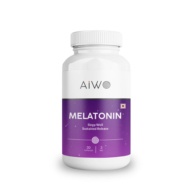 Melatonin sleep wellness capsules