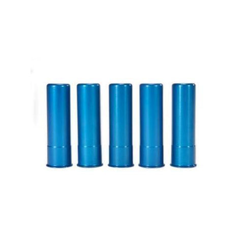 A-Zoom 12313 Blue Practice Training Dummy Round Snap Caps For 20 Gauge - 5 Pack