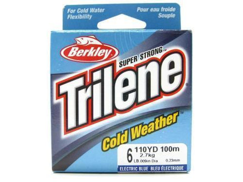 Berkley 1004392 Electric Blue Trilene Cold Weather 110 Yds 6 Lbs Fishing Line