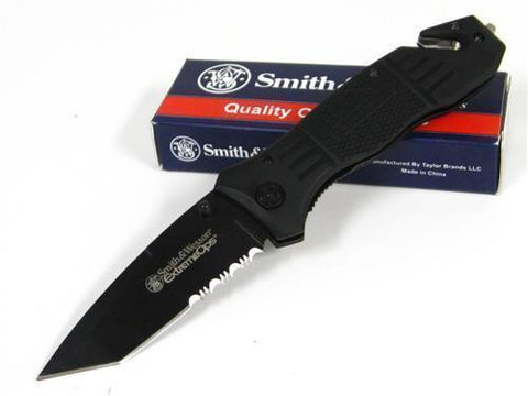 Smith & Wesson S&W SWFR2S Black Extreme OPS Knife