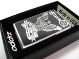 Zippo 28290 High Polish Chrome Right To Bear Arms Eagle Windproof Lighter