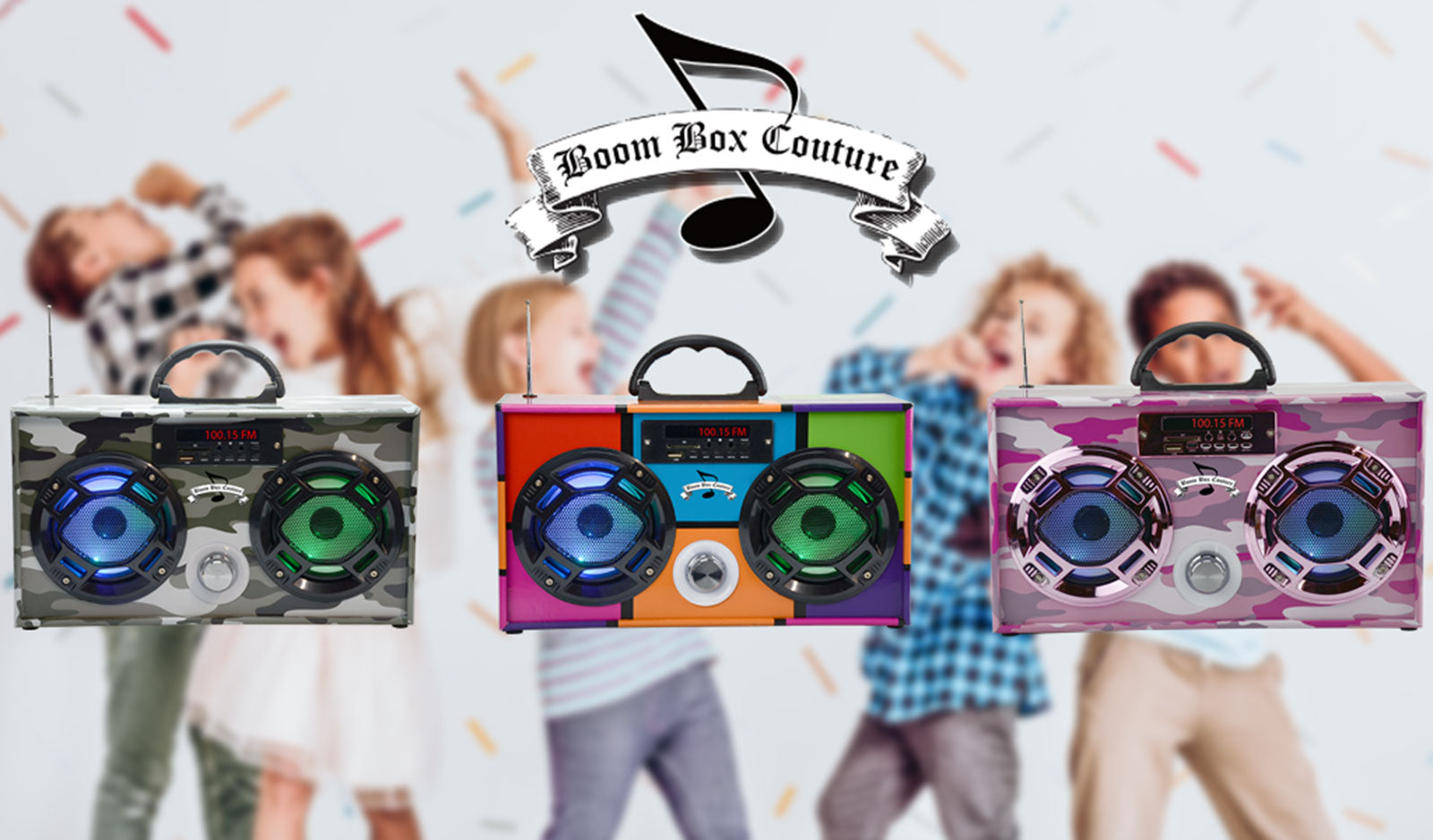 Music is much more entertaining now with Mini Boom Box