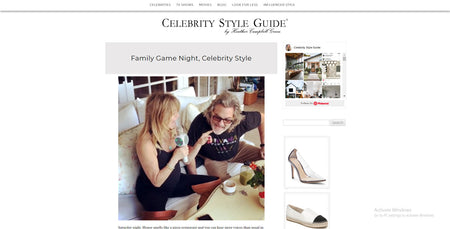 Celebrity Style Guide features Sing Along pro