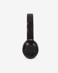 Bluetooth Stereo Back/Blue Headphones